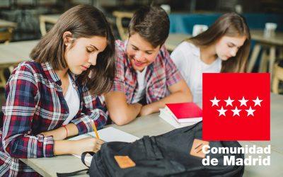 Ya se pueden solicitar las Becas de Bachillerato de la Comunidad de Madrid