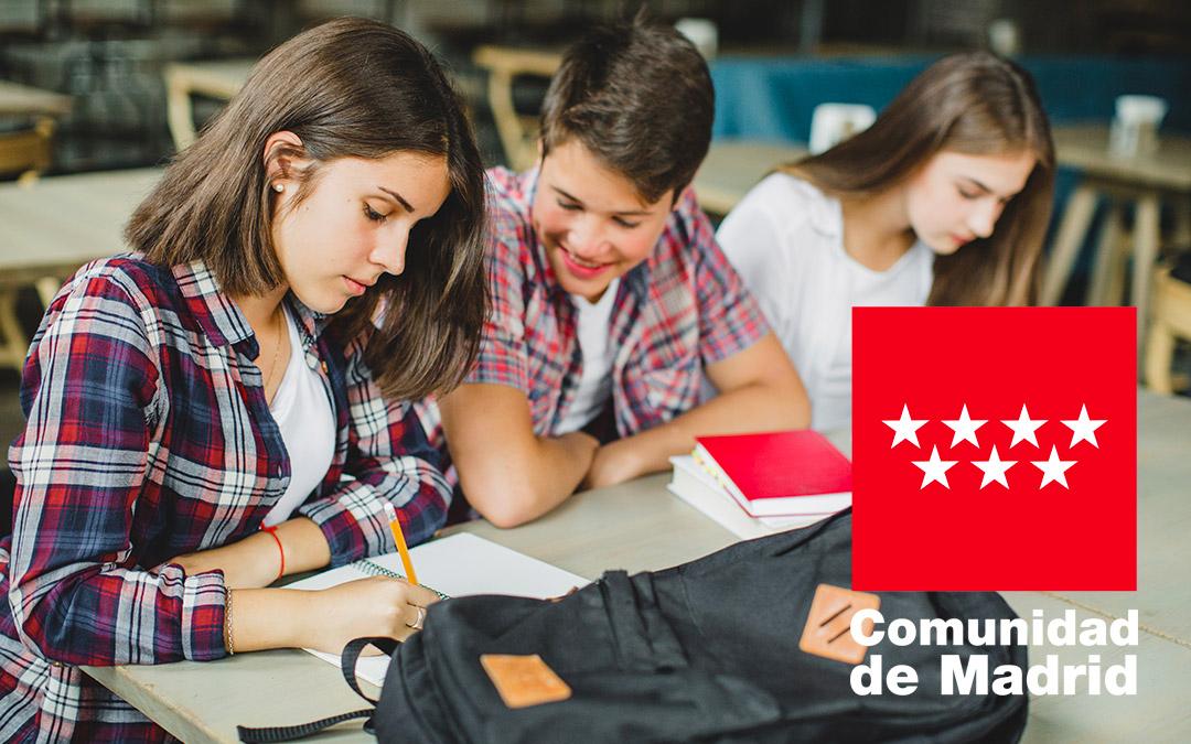 Colegio Hélicon Becas Bachillerato de la Comunidad de Madrid