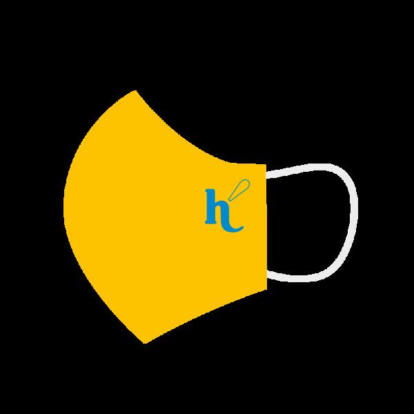 Mascarilla Hélicon amarilla niños