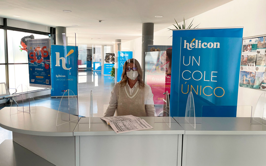 Colegio Hélicon - Recogida solicitudes