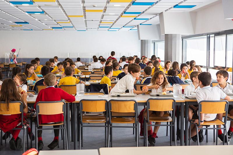 Colegio Hélicon - Precio reducido comedor