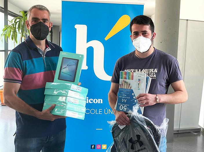 Colegio Hélicon - Hélicon dona todo su crédito de Amazon a su escuelita apadrinada de Camerún.